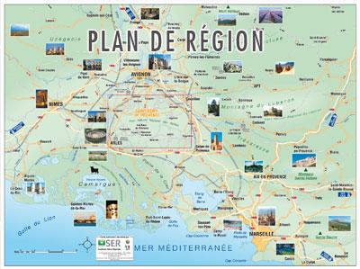 Info carte provence touristique - Office du tourisme gordes ...